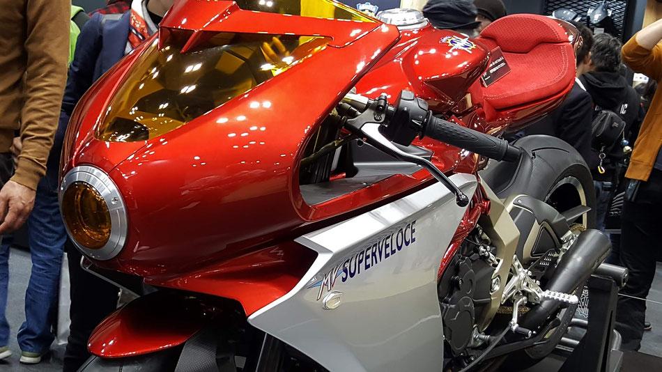 MVアグスタ スーパーヴェローチェ800のカウル