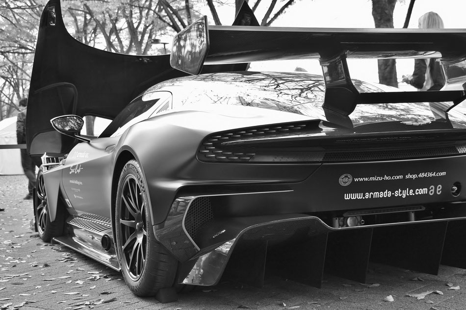 シブヤスポーツカーフェス アストンマーティン ヴァルカン 代々木公園 スーパーカー