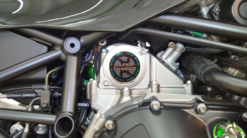 H2SXのコーティング 所沢 三芳 バイクのガラスコーティング・研磨