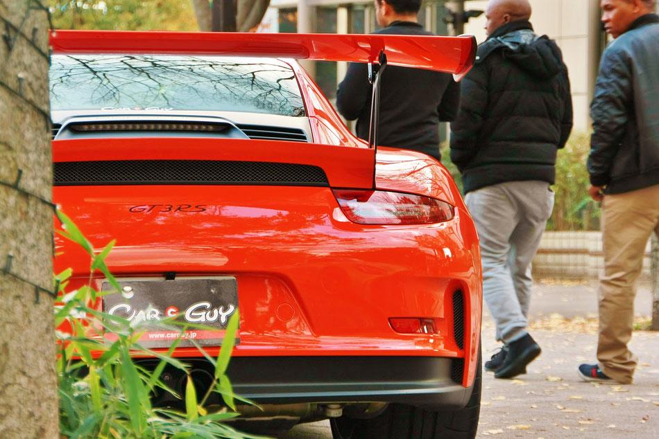991GT3RS 代々木公園 シブヤスポーツカーフェス