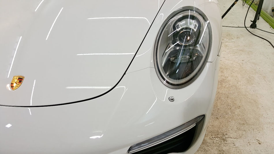 991カレラ4S ボディコーティング施工 所沢 三芳