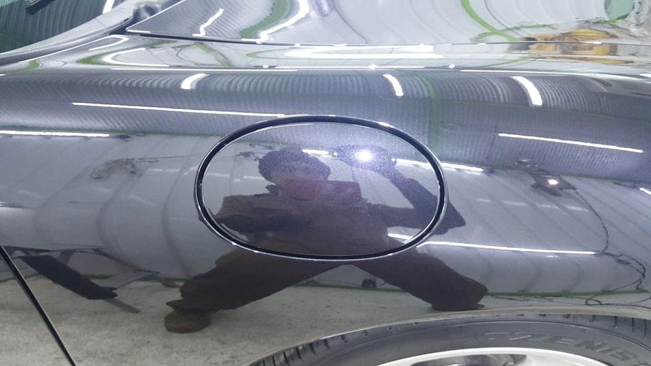996ターボHPE オーロラ除去 磨き傷改善 埼玉 所沢