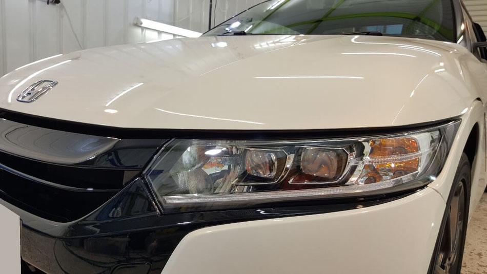 S660のヘッドライトコーティング完成