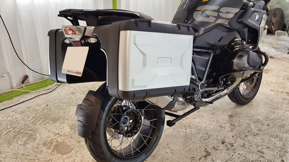 バイクの新車コーティング完成 R1250GS