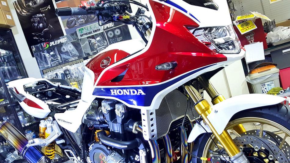 バイクコーティング完成 CB1300SB