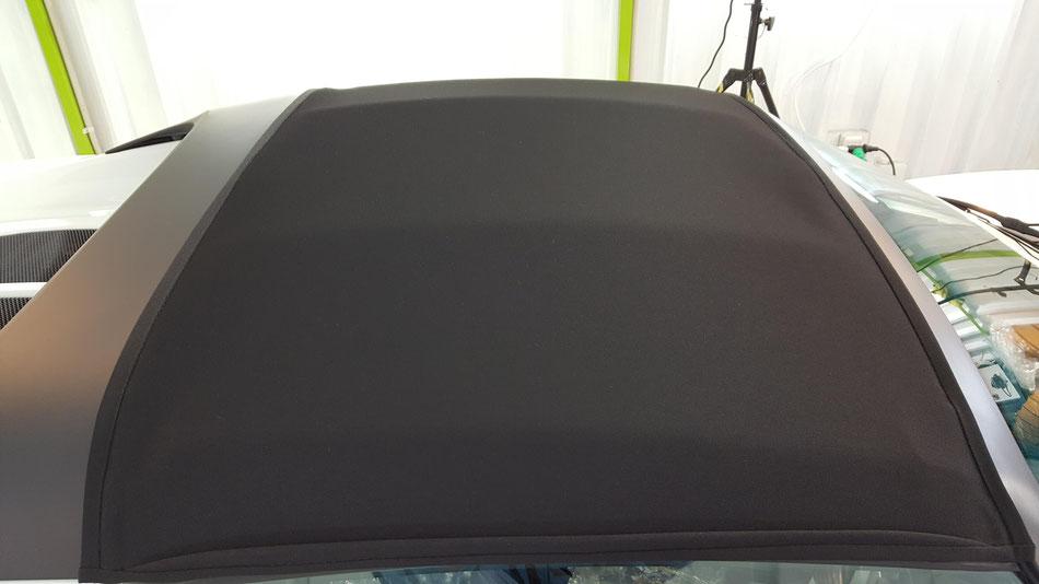 ロータスエリーゼの幌コーティング ソフトトップコーティング 埼玉の車磨き専門店