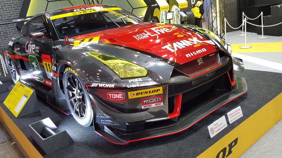 ゲイナーGT-RニスモGT3 東京オートサロン2019