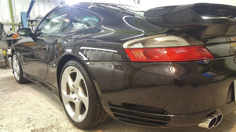 996ターボHPE ナノガラスコーティング完成 埼玉の車磨き専門店・アートディテール