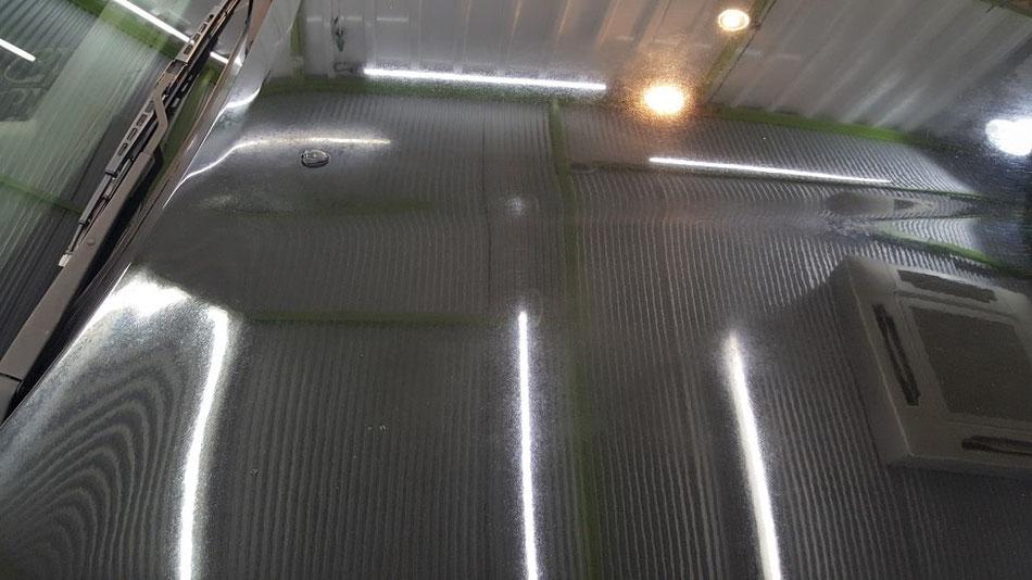 BNR32 クレーター・シミ 塗装の色あせ・チョーキング・くすみ