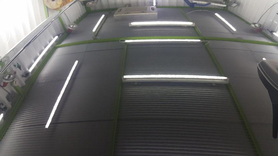 308GTI クレーターの研磨 埼玉三芳 所沢 濃色車の磨き