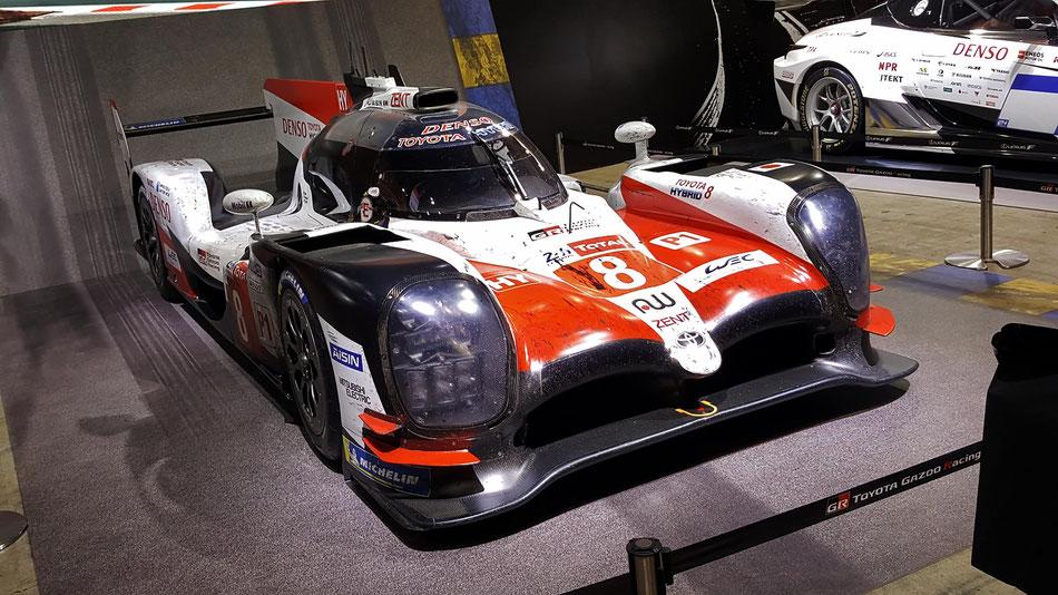 TS050ハイブリッド ル・マン24優勝車