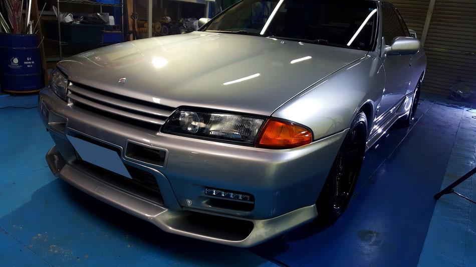 BNR32 GT‐Rの磨き後 埼玉の車磨き専門店 新座 浦和 川口