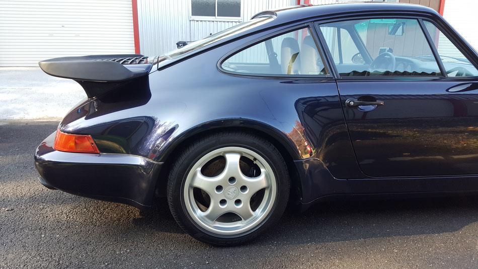 964ターボコーティング後 ボディラインが美しい