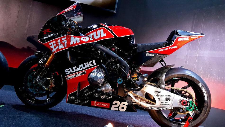 ヨシムラR1000レーサー モーターサイクルショー2019