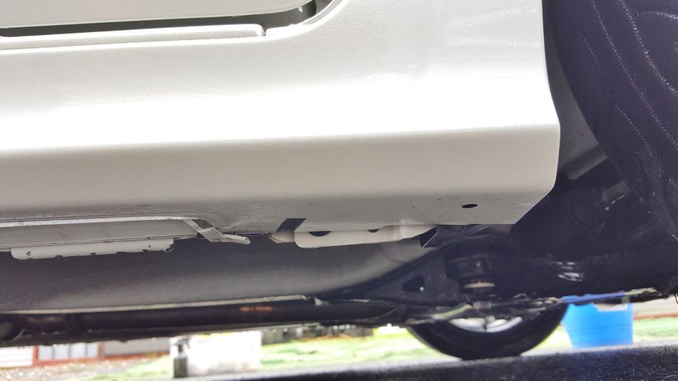 アルトワークスのタイヤカス除去 ガラスコーティングのメンテナンス 埼玉の車磨き専門店