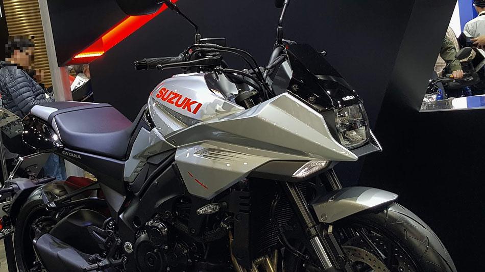 スズキの新型刀 モーターサイクルショー2019