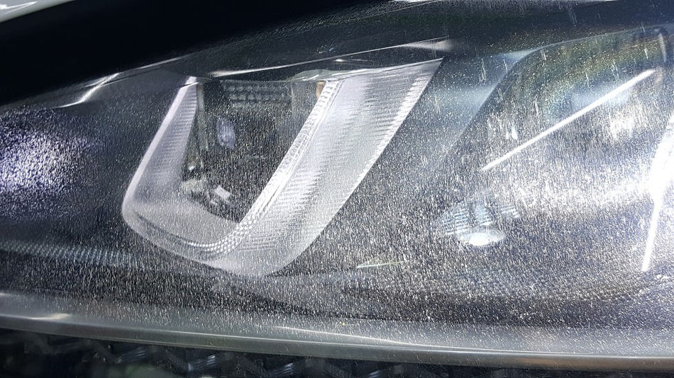 ゴルフ7R ヘッドライトの曇り・劣化