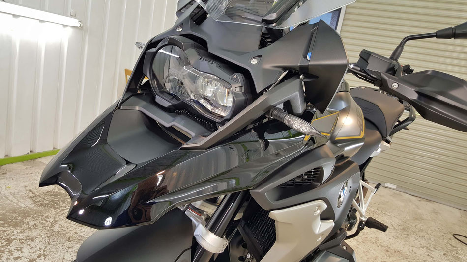 1250GSのバイクコーティング 埼玉のバイク磨き専門店