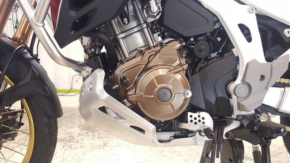crf1100l エンジンのコーティング 埼玉