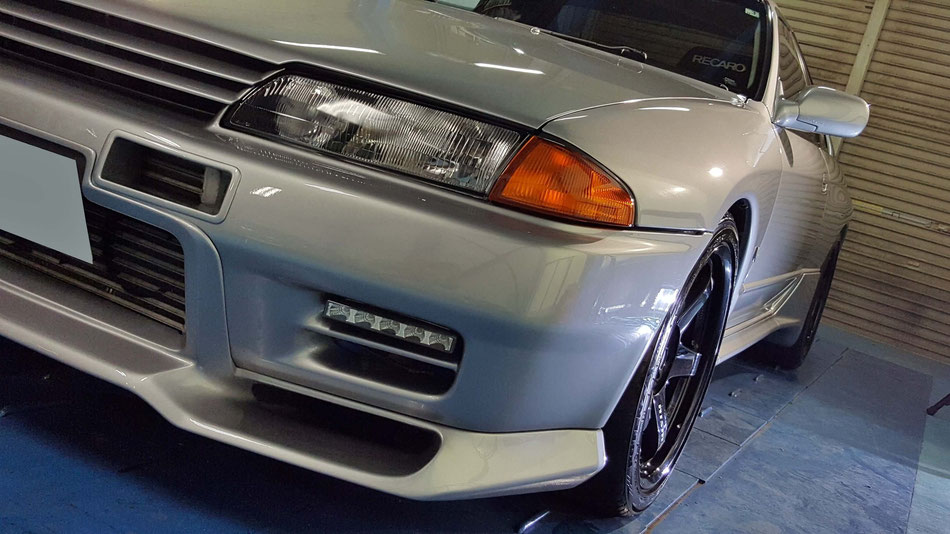 GT‐Rのガラスコーティング施工 BNR32 埼玉の車磨き専門店