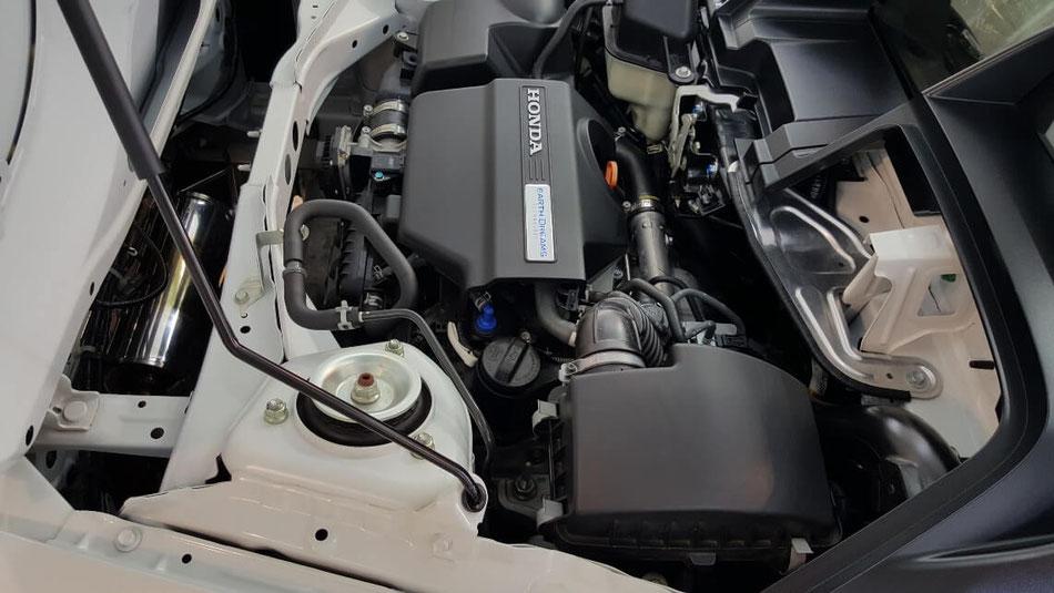 S660のエンジンルームのコーティング