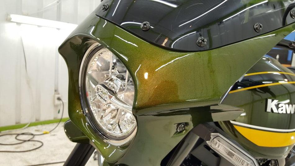 オートバイのコーティング 埼玉のバイク磨き専門店・アートディテール