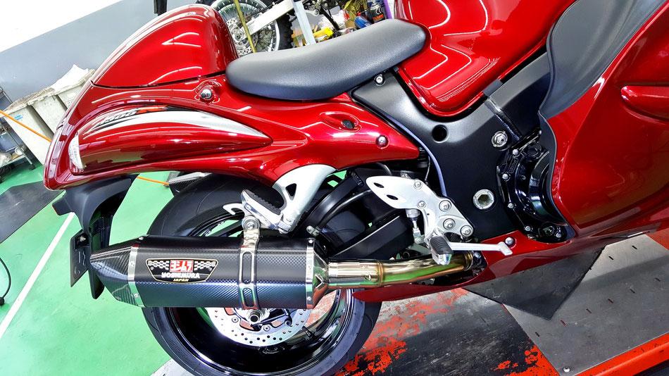バイクのガラスコーティング 所沢 和光 浦和 川口