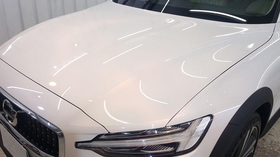 v60t5 新車のコーティング 埼玉の車磨き専門店・アートディテール