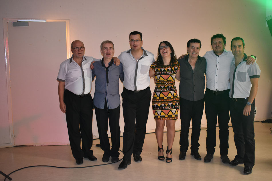 L'orchestre au complet Mulsanne 2018