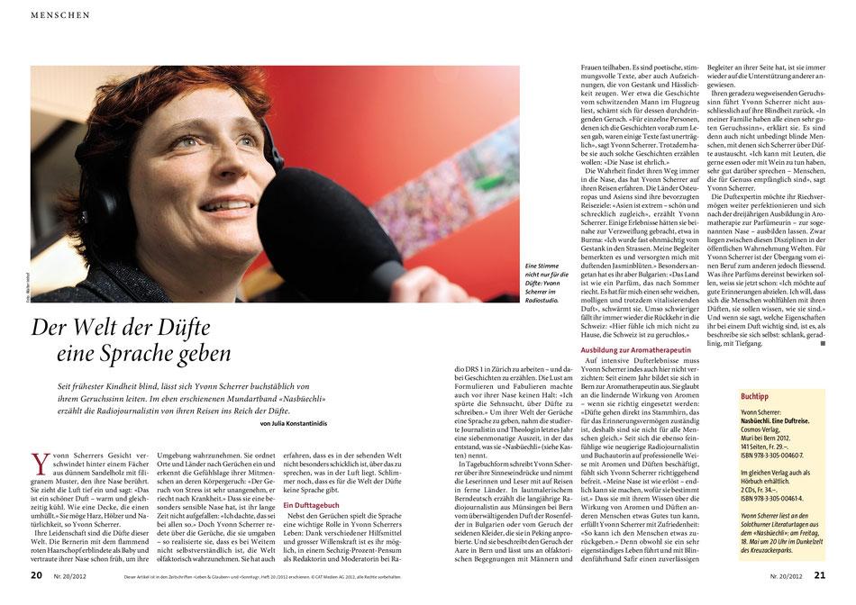 Artikel in Leben & Glauben vom 14. Mai 2012