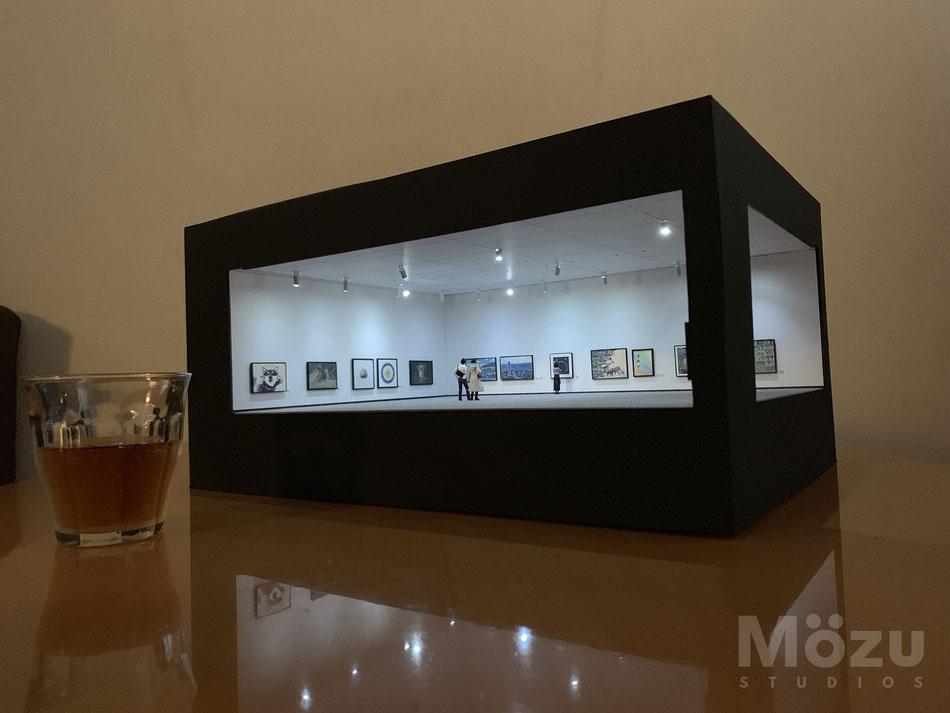 ミニチュア美術館の写真