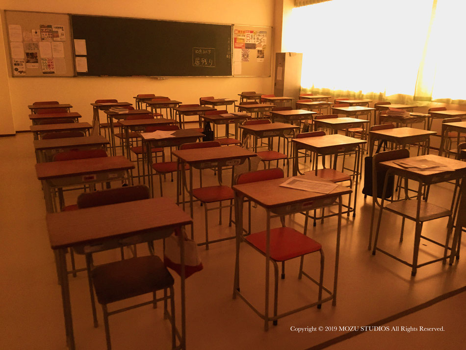 教室のミニチュア