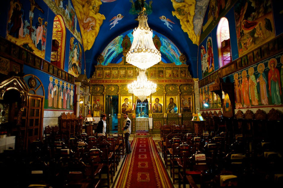 Greek Orthodox Church in Old Gaza city - Palestine - © François Struzik - simply human 2013