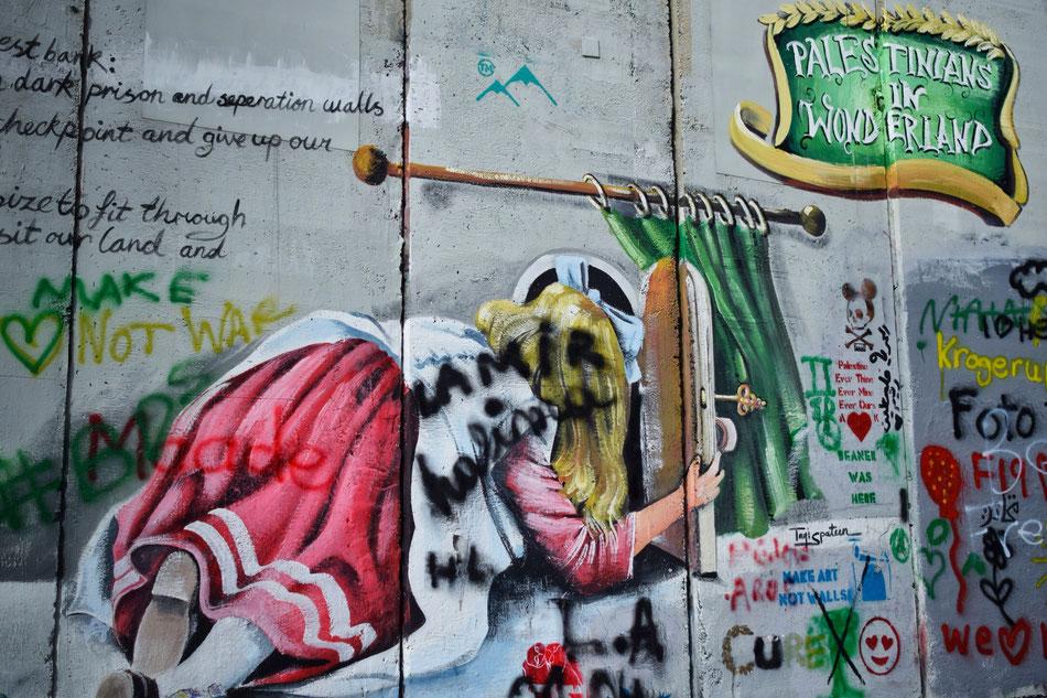 Mur encerclant Bethlehem
