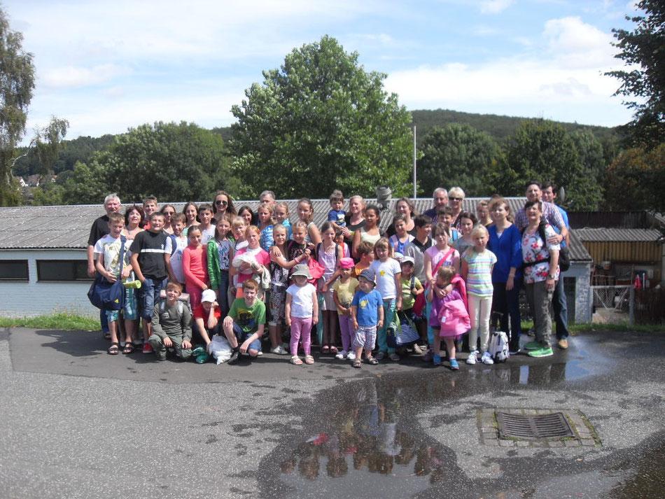 Sommerfest für Kinder in Merxhausen