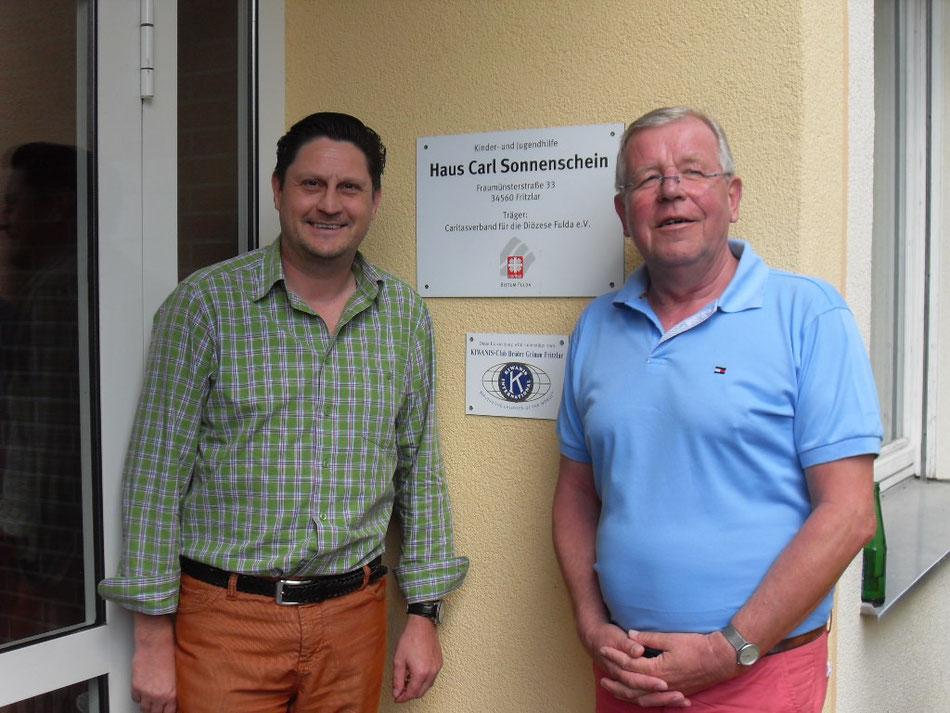 Wir unterstützen das Haus Carl Sonnenschein in Fritzlar - Ein Kinder- und Jugendheim der Kirche
