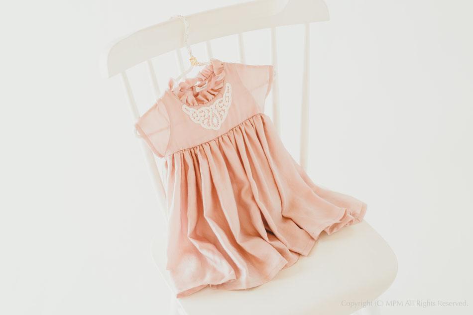 ドレス beigepink