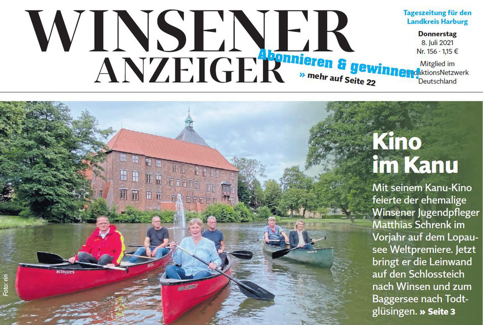 Winsener Anzeiger vom 08.07.2021