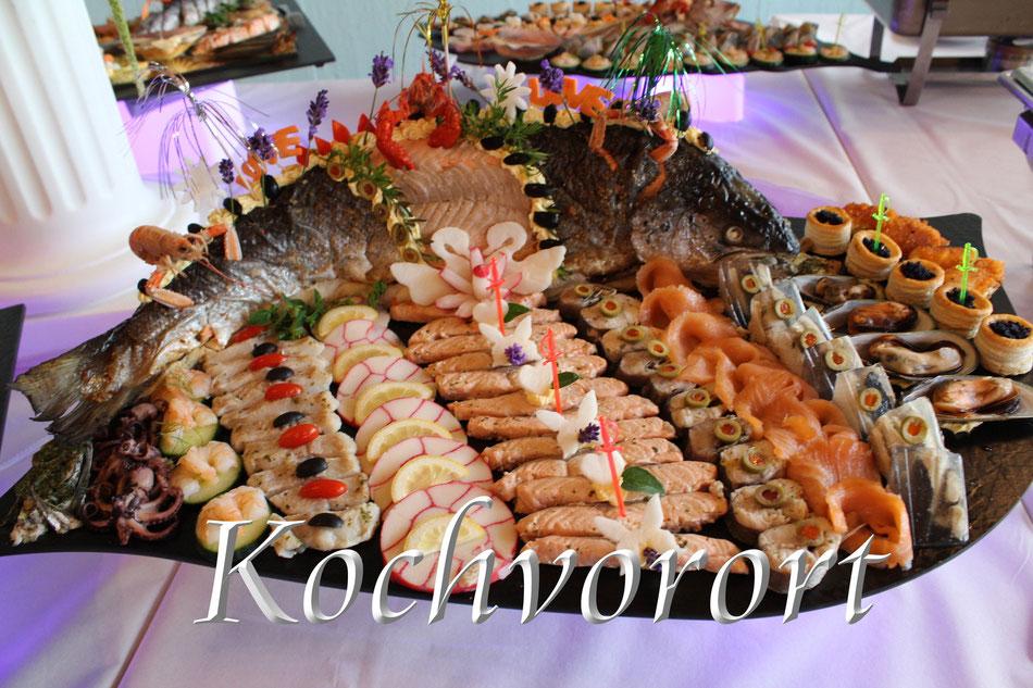 Fischplatte Russische Hochzeit