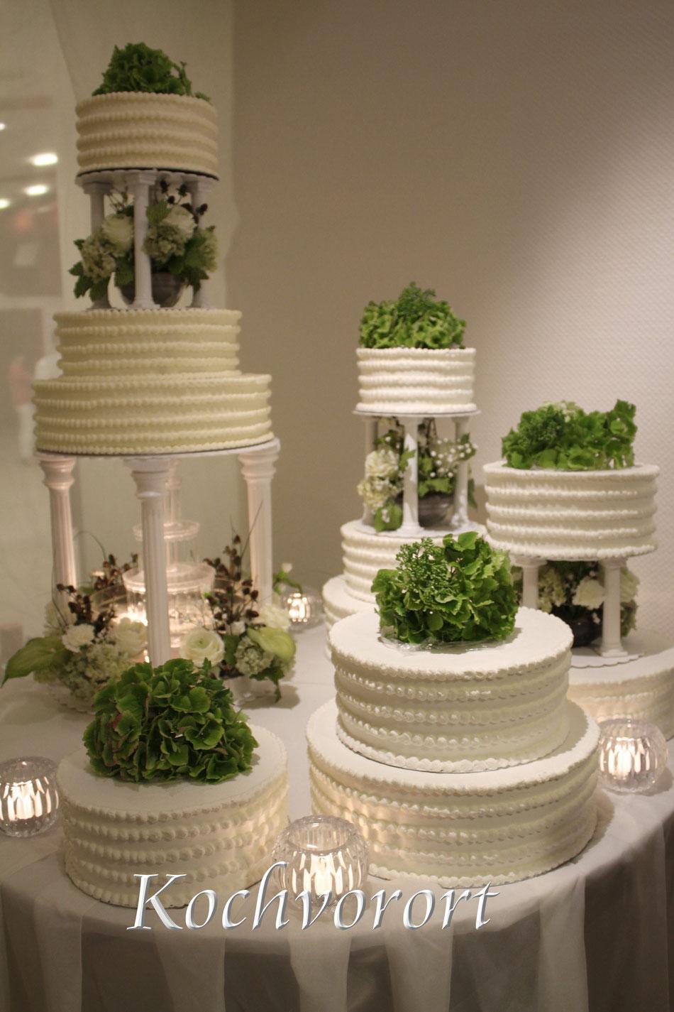 russische Hochzeit; Eistorte; Hochzeitstorte aus Eis; Location; Wedding planner; Russischer Partyservice; Rheinland-Pfalz; Koch vor Ort
