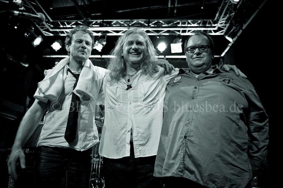 Smoking Wolf & Band, 19.02.2016, 18. Internationales Kieler Blues Festival, Räucherei
