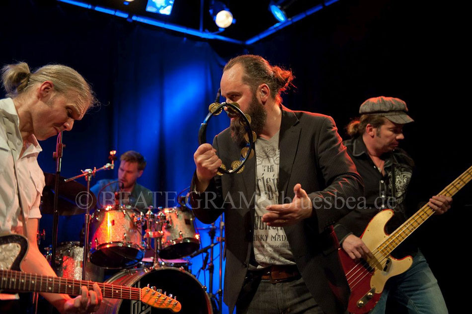 Wentus Blues Band, 18. Kieler Blues Festival, 19.02.2016, Räucherei Kiel