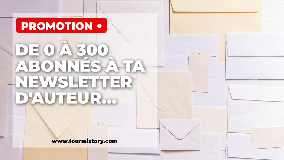 Astrid Sterin, l'astre et la plume, Mailing list, liste email, newsletter, blog d'auteur, comment avoir des inscriptions à sa newsletter