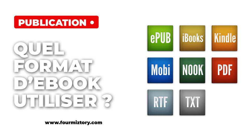 Les différents formats de livres numériques