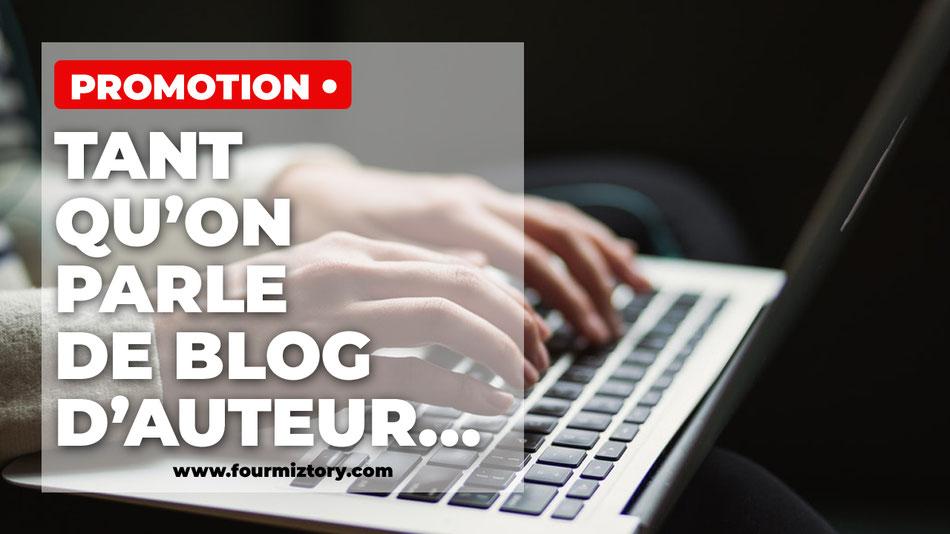 Référencement blog d'auteur !