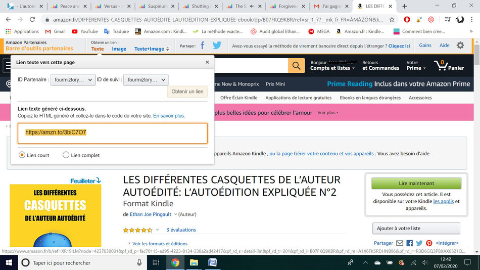 affiliation amazon comment ça marche ?