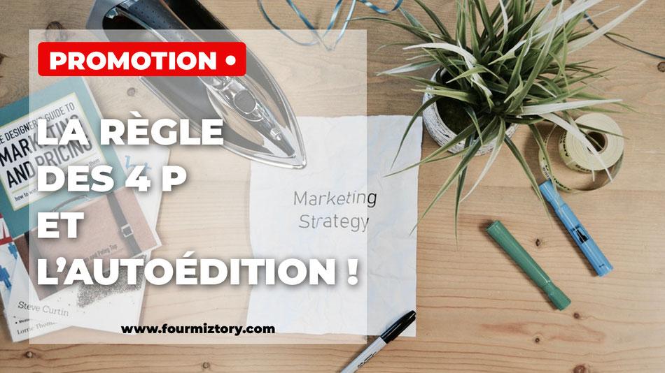 le marketing mix, les quatres p