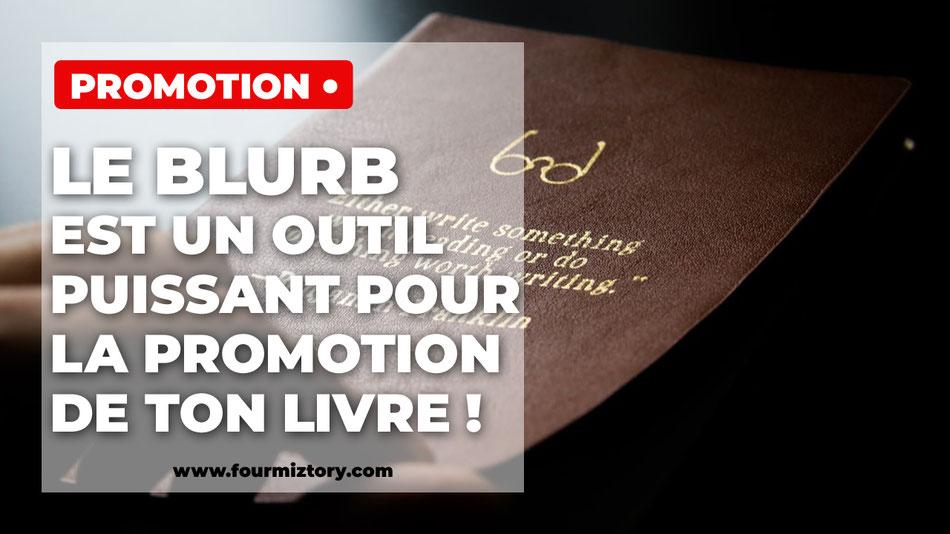 Blurb vendre son livre autoédition auteur