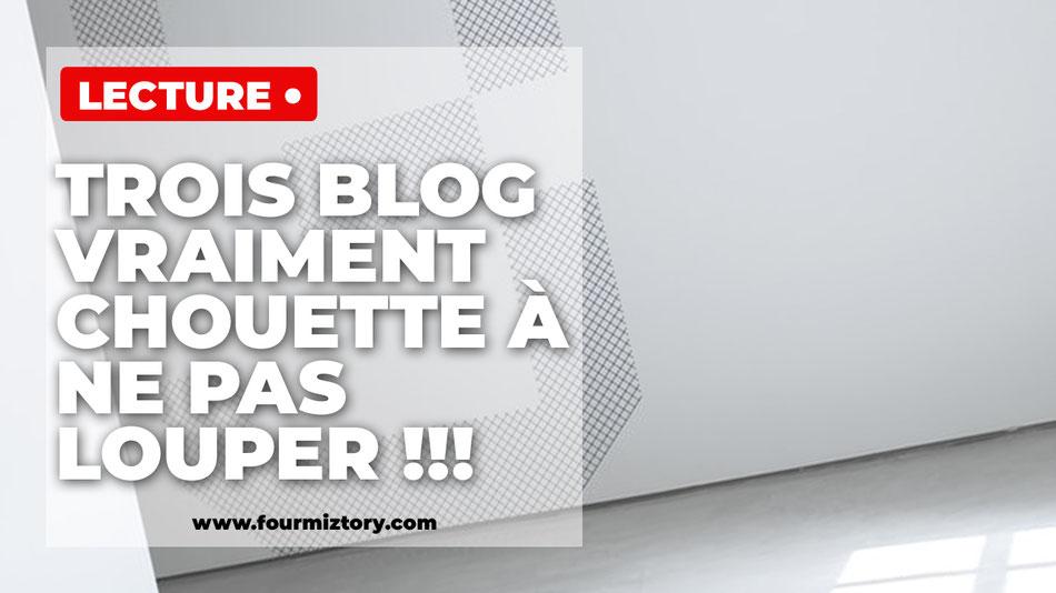 3 blogs sur l'écriture et l'autoédition