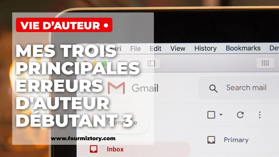 Développer sa mailing liste est indispensable quand on est auteur